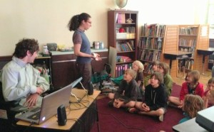 "I presented ""I Love my Disability"" at Durango Montessori School"